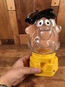 """他の写真3: Hasbro Flintstones """"Fred"""" Gumball Machine フレッド ビンテージ ガムボールマシン フリントストーン 70年代"""