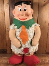 "Knickerbocker Flintstones ""Fred"" Rubber Face Doll フレッド ビンテージ ラバーフェイスドール フリントストーン 60年代"