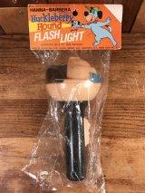 "Hanna-Barbera ""Huckleberry Hound"" Flash Light ハックルベリー ビンテージ フラッシュライト ハンナバーベラ 70年代"
