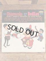 The Chipmunks Sing The Beatles Hits LP Record アルビンとチップマンクス ビンテージ レコード ビートルズ 60年代