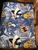 Looney Tunes Blanket ルーニーテューンズ ビンテージ ブランケット ワーナーブラザーズ 90年代~