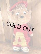 """Alvin & the Chipmunks """"Alvin"""" Talking Plush Doll アルビンとチップマンクス ビンテージ トーキングドール 80年代"""