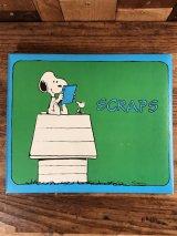 Peanuts Snoopy Scraps Note スヌーピー ビンテージ ノートブック 70年代