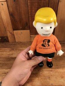 """他の写真3: Peanuts Snoopy """"Schroeder"""" Pocket Doll Figure シュローダー ビンテージ ポケットドール スヌーピー 60年代"""