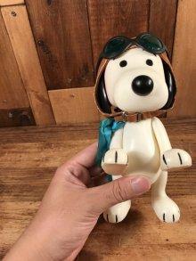 """他の写真3: Peanuts Snoopy """"Flying Ace"""" Pocket Doll Figure フライングエース ビンテージ ポケットドール スヌーピー 60年代"""