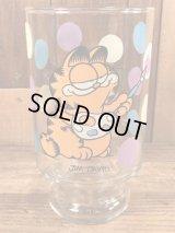 "Garfield ""Painter"" Big Glass ガーフィールド ビンテージ ビッググラス 70~80年代"