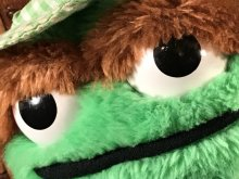 """他の写真2: Hasbro Softies Sesame Street """"Oscar the Grouch"""" Plush Doll オスカー ビンテージ ぬいぐるみ セサミストリート 80年代"""