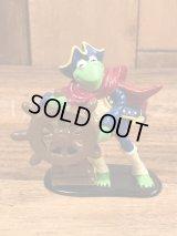 """Applause The Muppet Show """"Kermit The Frog"""" PVC Figure カーミット ビンテージ PVCフィギュア マペットショウ 80~90年代"""