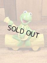 """The Muppet Show """"Kermit The Frog"""" Plastic Toy カーミット ビンテージ プラスチックトイ マペットショウ 90年代~"""