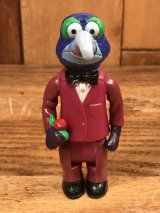 "Fisher-Price The Muppet Show ""The Great Gonzo"" Players Figure ゴンゾ ビンテージ フィギュア マペットショウ 70年代"