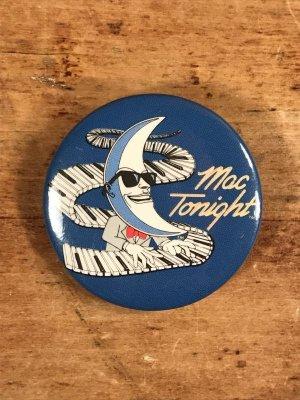 80年代のマクドナルドのマックトゥナイトのビンテージの缶バッジ