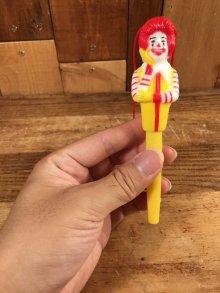 """他の写真3: McDonald's """"Ronald"""" Ballpoint Pen ロナルド ビンテージ ボールペン マクドナルド 80年代"""