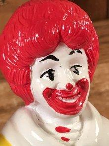 """他の写真1: McDonald's """"Ronald McDonald"""" Plastic Coin Bank ロナルド ビンテージ コインバンク マクドナルド 80年代"""