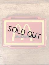 """McDonald's """"KKAT"""" Kat Country 102 FM Radio マクドナルド ビンテージ ミニラジオ 80年代"""