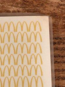 他の写真1: McDonaldland Vinyl Placemat マクドナルド ビンテージ プレースマット ランチョンマット 70年代