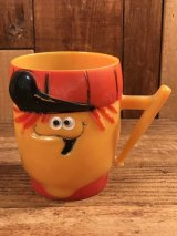 "Pillsbury Funny Face ""Lefty Lemon"" Mug ファニーフェイス ビンテージ マグカップ レフティーレモンライム 60年代"