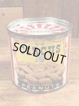 Circus Peanuts Tin Can サーカス ビンテージ ブリキ缶 ピーナッツ 50年代