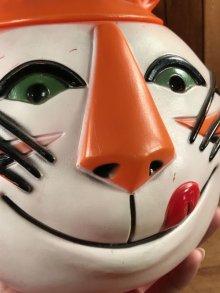 """他の写真1: Kellogg """"Tony the Tiger"""" Plastic Cookie Jar トニーザタイガー ビンテージ クッキージャー ケロッグ 60年代"""