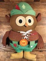 Amway Woodsy Owl Cloth Doll ウッジーオウル ビンテージ クロスドール ぬいぐるみ 70年代