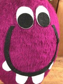 他の写真3: Pillsbury Funny Face Goofy Grape Plush Doll ファニーフェイス ビンテージ プラッシュドール グーフィーグレープ 70年代