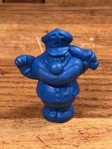 "Cookie Crisp ""Cookie Cop"" Pencil Topper PVC Figure クッキークリスプ ビンテージ ペンシルトッパー PVCフィギュア 90年代"