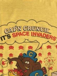 """他の写真3: Cap'n Crunch """"It's Space Invaders"""" Kids T-Shirt キャプテンクランチ ビンテージ キッズTシャツ 80年代"""
