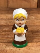 """Campbell Soup Kids """"Pilgrim Girl"""" PVC Figure キャンベルスープ ビンテージ PVCフィギュア キャンベルキッズ 80年代"""