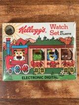 Kellogg's Electronic Digital Watch Set ケロッグ ビンテージ ウォッチセット 腕時計 80年代