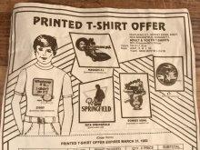 """他の写真2: Cap'n Crunch """"It's Space Invaders"""" Kids T-Shirt キャプテンクランチ ビンテージ キッズTシャツ 80年代"""