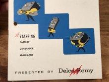 他の写真2: Delco Remy Regulation and the Charging Circuit Booklet 企業物 ビンテージ ブックレット 50年代