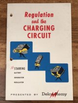 Delco Remy Regulation and the Charging Circuit Booklet 企業物 ビンテージ ブックレット 50年代