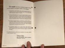 他の写真3: Delco Remy 20,000 Volts Under The Hood Booklet 企業物 ビンテージ ブックレット 50年代