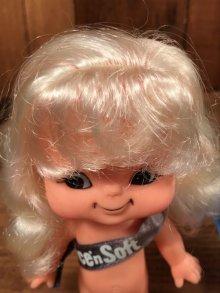 他の写真1: Nice'n Soft Girl Vinyl Doll ナイスンソフト ビンテージ フィギュア ソフビドール 70~80年代