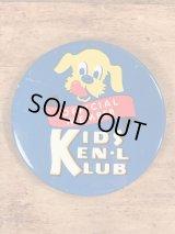 Kids Ken L Ration Klub Official Member Pinbacks ケンエルレーション ビンテージ 缶バッジ 50年代