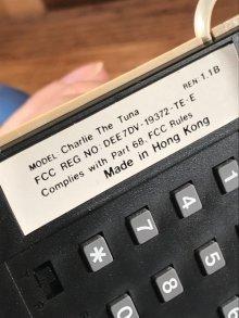 他の写真1: Star Kist Charlie The Tuna Telephone チャーリーザツナ ビンテージ 電話機 フィギュア 80年代