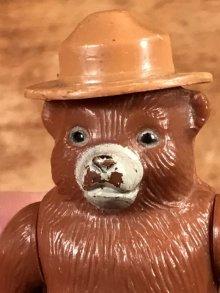 他の写真1: Smokey Bear Plastic Figure スモーキーベア ビンテージ フィギュア 70年代