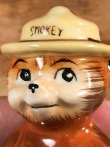 他の写真1: Smokey Bear Ceramic Figure スモーキーベア ビンテージ セラミックフィギュア 陶器 50年代