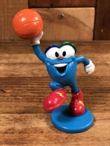 "Atlanta Olympics Izzy ""Basketball"" PVC Figure イジー ビンテージ PVCフィギュア オリンピック 90年代"