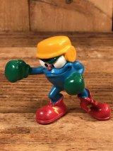 "Atlanta Olympics Izzy ""Boxing"" PVC Figure イジー ビンテージ PVCフィギュア オリンピック 90年代"