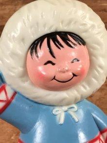 他の写真1: Li'l Eskimo Baking Soda Holder リルエスキモー ビンテージ フィギュア 容器 80年代