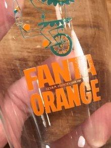 """他の写真2: Fanta Orange """"Unicycle"""" Glass ファンタオレンジ ビンテージ グラス ガラスコップ 60年代"""