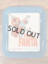 Tome Fanta Mini Tin Tray ファンタオレンジ ビンテージ ミニトレイ アドバタイジング 60年代