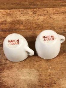 他の写真3: Magic Mountain Troll Mini Toy China Tea Set マジックマウンテントロール ビンテージ ミニおままごとセット 陶器 60年代