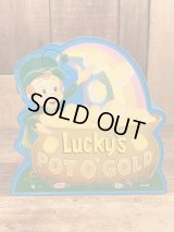 Lucky's Pot O' Gold Coin Bank ラッキーチャームス ビンテージ コインバンク 80年代