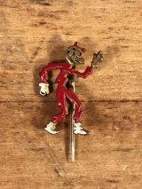 Reddy Kilowatt Lapel Pin レディキロワット ビンテージ ピン ネクタイピン 40~50年代