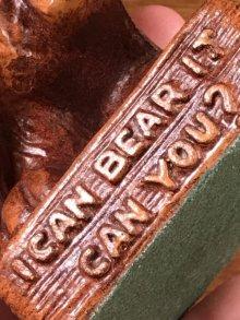 他の写真2: I Can Bear It Can You? Thermometer クマ ビンテージ 湿度計 置物 50年代