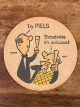 Piels Beer Bert & Harry Coaster ピールズビール ビンテージ コースター バート&ハリー 60年代