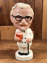 Kentucky Fried Chicken Colonel Sanders Bobble Head カーネルサンダース ビンテージ ボビングヘッド 首振り人形 60~70年代