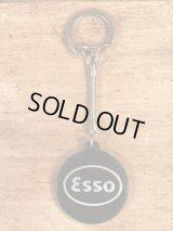 """Esso """"Happy Motoring"""" Key Club Keychain エッソ ビンテージ キーホルダー 60年代"""