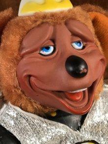 """他の写真2: Showbiz Pizza Rock-afire Explosion """"Dook LaRue"""" Doll ショービズピザ ビンテージ ドール 企業キャラクター 80年代"""
